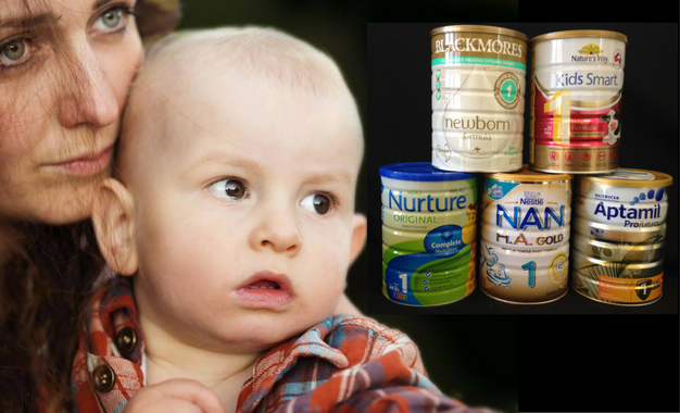 Potentially toxic nanoparticles found in baby formula
